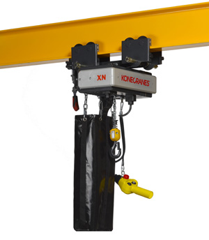Electric Chain Hoists for Wind Turbine Applications