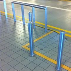 Metal structures fencing