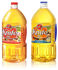 Knife Cooking Oil