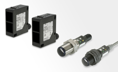 Retro reflective photoelectric sensors