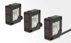 Polarised retro reflective photoelectric sensors