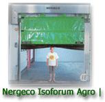 Nergeco Isoforum AGRO I High Speed Fabric Door