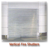 2 & 4 Hours Vertical Fire Rated Shutters