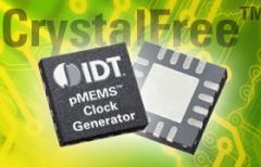 CrystalFree™ pMEMS™ Clock Generators