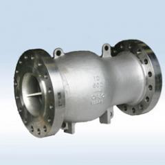 Neway axial flow check valve