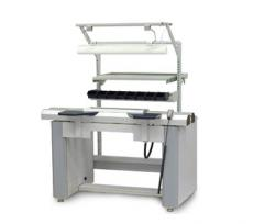 Ergonomic workstation for inspection and manual assembly