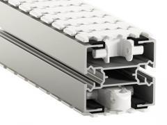X85 (83 mm) Aluminum conveyors