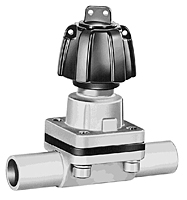 GEMU Type 601 Sanitary Diaphragm Valve