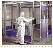 Cleanroom AirLock Enclosure Systems