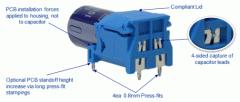 Capacitor Holder (Solderless) The Interplex CAP-LOC™ System