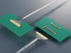 Ultra-thin coaxial connector FI-JV series
