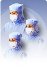 M9-CRL - Cleanroom Mask with Small Veil