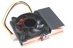 AGP and Chipset Heatsinks