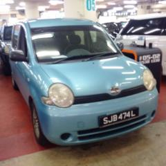 Used 2005 Toyota Sienta 1.5A