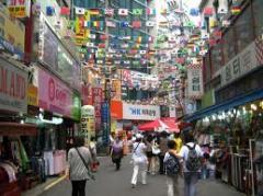 Korea Shopping tour