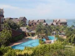 Pangkor island beach resort tour