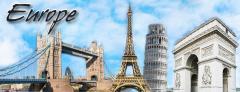 Wonders of Switzerland/France/London tour